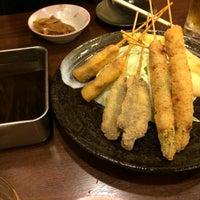 Photo taken at 串カツ ファミリー by nabesan0209 on 10/23/2015
