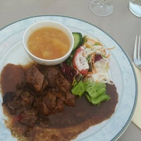 Photo taken at Restaurant Café Français by Derya K. on 8/27/2016
