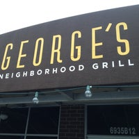 Photo taken at George's Neighborhood Grill by John C. on 12/18/2012
