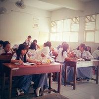 Photo taken at SMA GIKI 2 Surabaya by Anditya Sentana M. on 2/18/2013