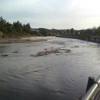 Photo taken at Ponte de Sôr by Luis V. on 1/9/2014
