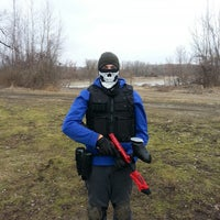 Photo taken at Gateway Paintball Park by Garryth H. on 1/18/2014