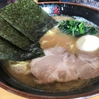 Photo taken at 横浜らーめん 日々家 by Nanami on 2/18/2017