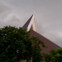 Photo taken at Gereja Katolik Santo Yakobus by Eugenia A. on 4/14/2013