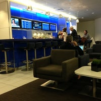 Photo taken at Delta Sky Club by Francesco E. on 1/2/2013
