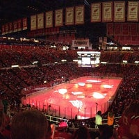 Photo taken at Joe Louis Arena by Francesco E. on 5/5/2013