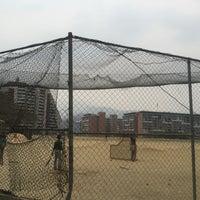 Photo taken at Campo Del Beisbol Las Piedritas by Alexandra M. on 4/15/2016
