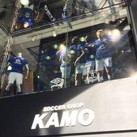 4/15/2017にじゃんぱおろ ぱ.がサッカーショップKAMO 渋谷店で撮った写真