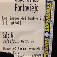 Photo taken at Supercines by Leonidas S. on 11/23/2013