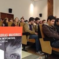 Photo taken at Paraninfo Universidad De Málaga by Daniel J. on 3/1/2014