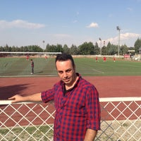 Photo taken at Tpao Futbol Sahasi by Yalçın S. on 10/6/2013