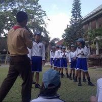Photo taken at SMAN 1 Kuta Utara by Cintya K. on 10/6/2013