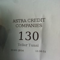 Photo taken at Astra Credit Companies (ACC) Bandung by Ucok L. on 1/13/2014
