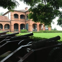 Photo taken at Fort San Domingo by Ghim on 6/23/2013