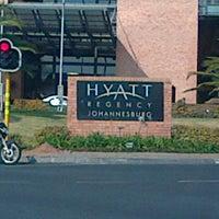 Photo taken at Hyatt Regency Johannesburg by Niel J. on 9/14/2012