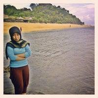 Photo taken at Sadranan Beach - Yogyakarta by A B. on 1/18/2014