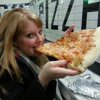 Photo taken at Jumbo Slice Pizza by Stephanie B. on 2/3/2013