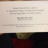 Photo taken at altunbilekler şaşmaz by Özgür T. on 12/27/2016
