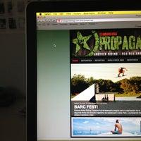 Photo taken at North BA - Propaganda! Mag by Thomas F. on 1/25/2013