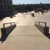 Photo taken at House Park Skatepark by Thomas F. on 6/10/2014
