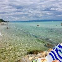 Photo taken at Almyra Beach Bar by Mesut A. on 7/18/2017