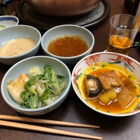 Photo taken at Ningyocho Imahan by Po Y. on 2/9/2018