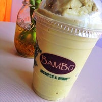 Photo taken at BAMBU Desserts & Drinks by Marfay T. on 9/14/2014