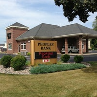 Photo taken at People's Bank by Brian V. on 8/26/2013