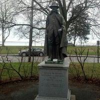 Photo taken at William Bradford Statue by Ben K. on 12/27/2012