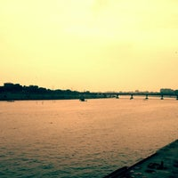Photo taken at Sabarmati River Front by Sonal B. on 8/24/2014