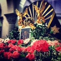 Photo taken at Iglesia Nuestra Señora De La Chiquinquira by Nelson E. on 11/19/2013