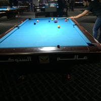 Photo taken at Snooker World by Taisseer M. on 4/27/2014