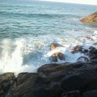 Photo taken at Costão da Praia do Santinho by DJ Black b. on 1/28/2013