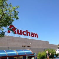 Photo taken at Auchan by Federico C. on 8/6/2014
