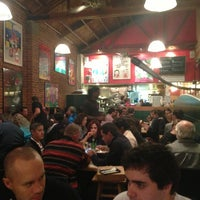 Photo taken at Zachary's Chicago Pizza by Rodrigo B. on 1/28/2013