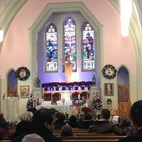 Photo taken at St Brigid's Church by Kevin C. on 12/25/2012