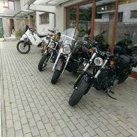 Photo taken at Harley Davidson Šalamounka Club by Jan F. on 7/21/2016