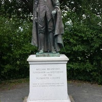 Photo taken at William Bradford Statue by David G. on 7/28/2014