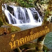 Photo taken at น้ำตกเจ็ดคต แก่งคอย สระบุรี by YoON ^. on 10/13/2012
