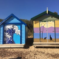 Photo taken at Brighton Bathing Box by Jason G. on 4/20/2018