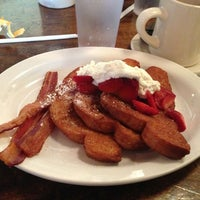Photo taken at Big Bad Breakfast by Frazzy 626 on 5/15/2013