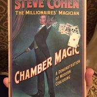 Photo taken at Steve Cohen Chamber Magic by Ken S. on 10/17/2015