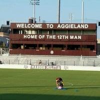 Photo taken at Ellis Field - Aggie Soccer Stadium by Richard N. on 8/7/2016