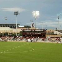 Photo taken at Ellis Field - Aggie Soccer Stadium by Richard N. on 8/20/2016