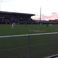 Photo taken at Ellis Field - Aggie Soccer Stadium by Callie Ann H. on 8/26/2013