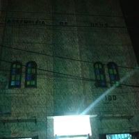 Photo taken at Assembleia de Deus Cidade Nova by Moises F. on 5/12/2014