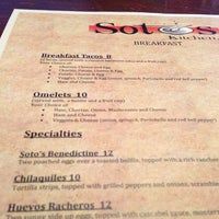 ... Photo Taken At Sotos Kitchen By Jamie M. On 10/4/2014 ...