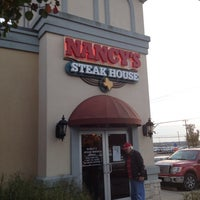 Photo taken at Nancy's Steak House by Mary B. on 12/12/2013