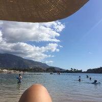 9/22/2017 tarihinde Banu D.ziyaretçi tarafından Golden Sand Beach Club'de çekilen fotoğraf