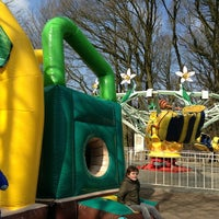 Photo taken at Amusementspark Tivoli by helm c. on 4/1/2013